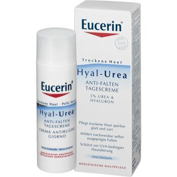 Eucerin Hyal-Urea  day cream 5% urea +hyaluron cream  50 ml