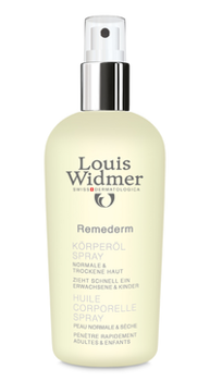 Louis Widmer remederm body oil spray 150 мл без запаха