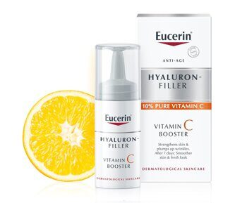 Eucerin Hyaluron Filler C vitamini booster 3*8ml